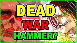 WarHammer Titan DIES? New Armor Titan & Colossal Titan Surprise! Attack on Titan Chapter 104