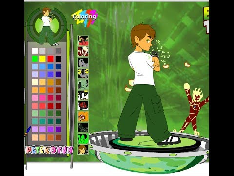 ben 10 coloring pages games - photo#25