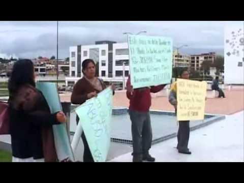 Ambato: Familiares y amigos de menor víctima de violación realizaron plantón para exigir justicia