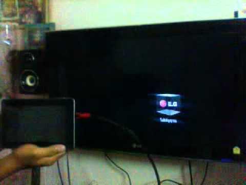 การใช้สายHDMIต่อเข้ากับทีวี