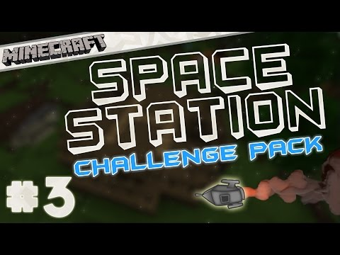 [1.7.10] Space Station Challenge Pack! - Part 3 - Flying!
