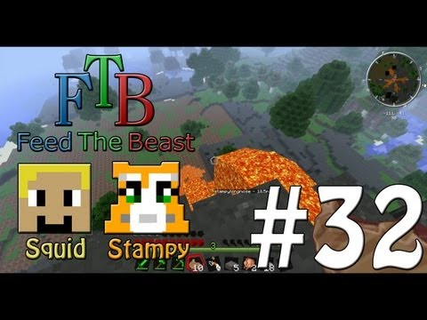Feed The Beast #32 - Time To Explore!! - W/Stampylongnose