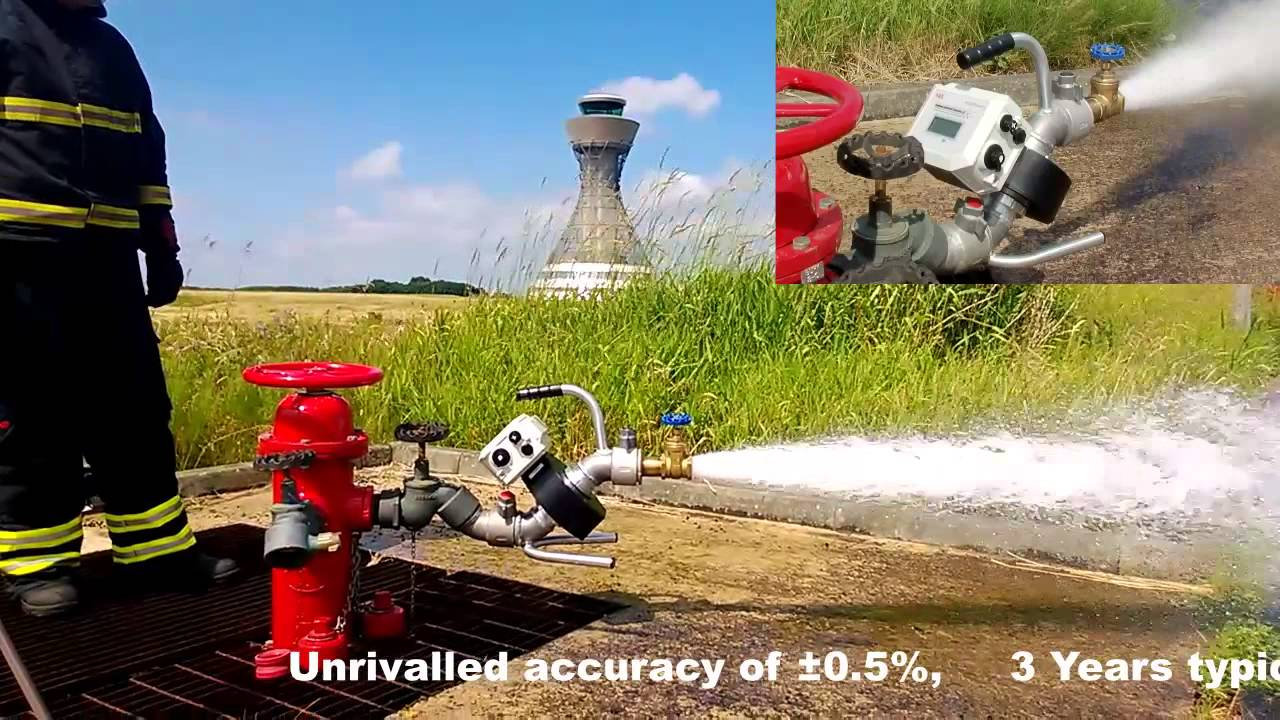 Hydrant Flow And Pressure Meter Demonstration Of Hydrant