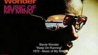 Watch Stevie Wonder Keep On Running video