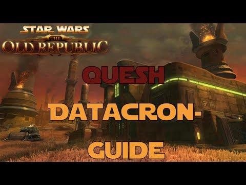SWTOR Datacron Guide für Quesh Imperium