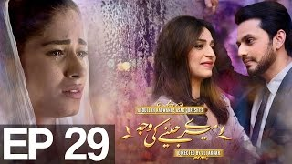 Meray Jeenay Ki Wajah Episode 29