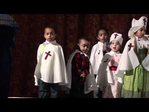 Funny Kids Mezmur Ethiopian Orthodox Church Oakland, Ca video