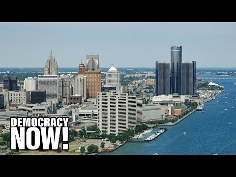 Water is a Human Right: Detroit Residents Seek U.N. Intervention as City Shuts Off Taps to Thousands