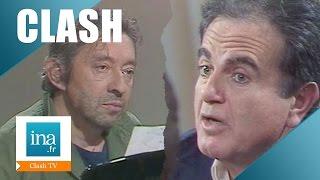 Culte: Le clash Serge Gainsbourg / Guy Béart   Archive INA