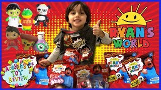 Ryan Toysreview SURPRISE Ryan's World Toys Opening Squishies & Racers | By Arayan's Toy Review