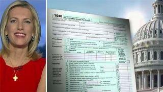 Laura Ingraham blasts media hypocrisy on tax reform cost