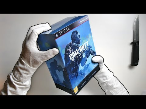 CALL OF DUTY GHOSTS HARDENED EDITION! Unboxing COD Limited Collector's KEM Extinction