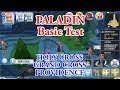Ragnarok Mobile [ China ] : Basic Test   PALADIN [ Holy Cross + Grand Cross ] & Providence