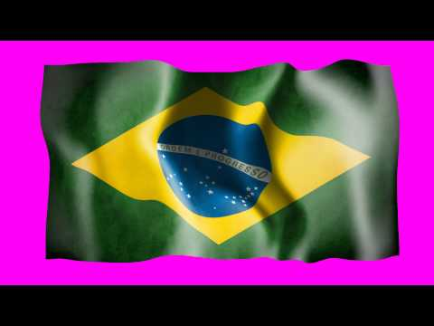 Brazil Waving Flag video