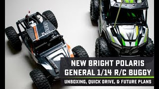 New Bright Polaris General 1:14 RC Buggy Unboxing, Quick Drive, & Future Plans