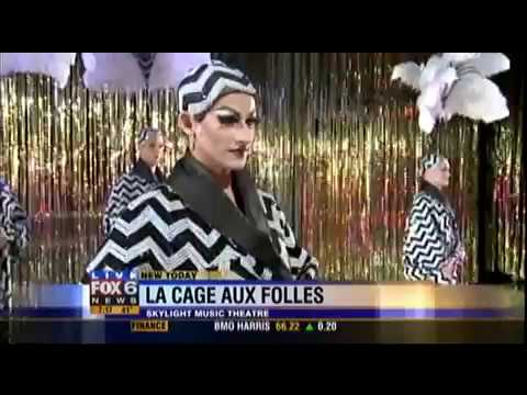 """La Cage Aux Folles"" on FOX 6 WakeUp - Opening Number Preview"