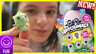 NEW!! HATCHIMALS COLLEGGTIBLES! HATCHING SMALL EGGS! TOY FAIR 2017! | KITTIESMAMA