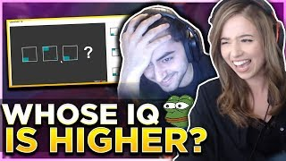 POKI & MOE TAKE AN IQ TEST ON STREAM! Duo w/ Yassuo!