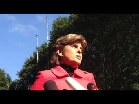 Gloria Allred speaks out on Darren Sharper Hearing