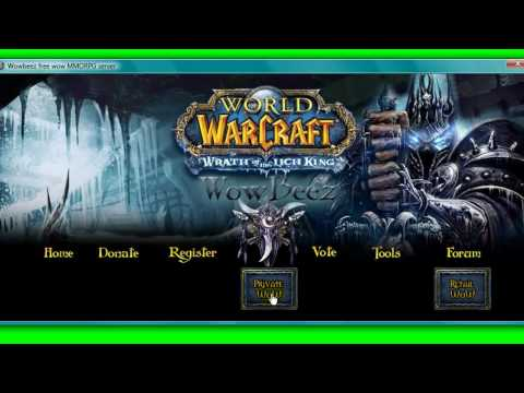 How to Download the World of Warcraft Private Server . Wowbeez Launcher!