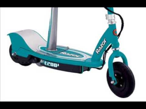 Electric Razor Scooter With Seat Razor E200s Seated Electric