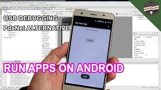 Run and Test Android Studio Apps On Hardware Device - PDANET & OEM Drivers Alternative For Linux