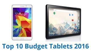 10 Best Budget Tablets 2016
