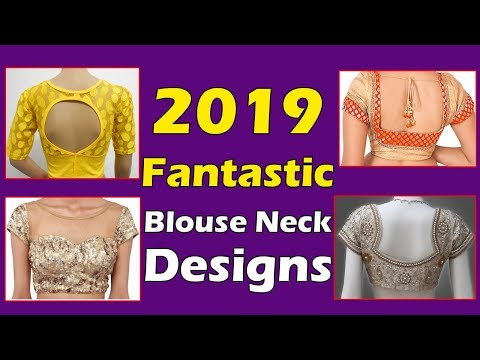 Blouse Designs in | 2019 Blouse Designs Collection | Fashion World