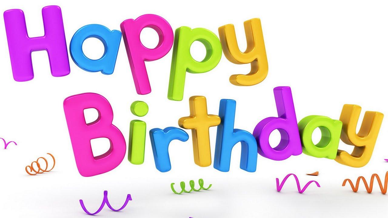 Официальное поздравление с днём рождения на английском языке