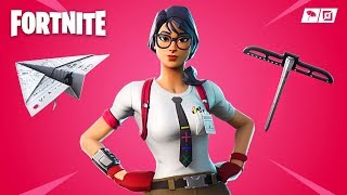 Fortnite *NEW* Nerd Maven Skin & Paper Plane Glider!! *Pro Fortnite Player* (Fortnite Live Gameplay)