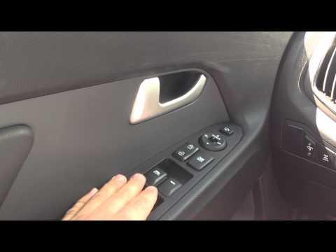 Автоматическое закрытие/открытие окон KIA Sportage / Automatic closing windows KIA Sportage