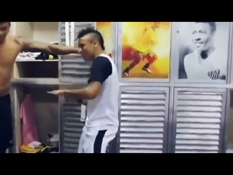 Ai Se Eu Te Pego - Neymar Singing with Michel Teló - Football Celebration Craze Full HD