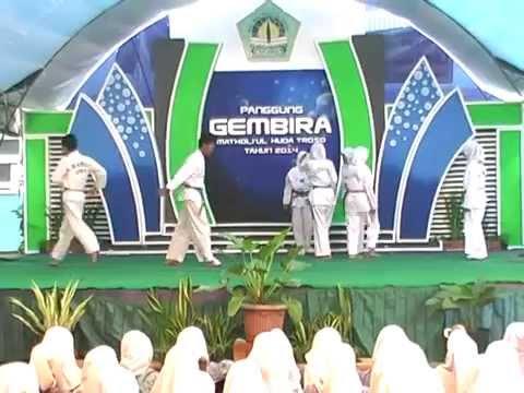 Taekwondo, Modern Dance Pa, Tari Daerah - Panggung Gembira 2014 video