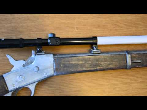 Homemade Rolling Block Rifle
