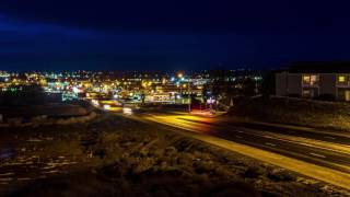 Moses Lake, WA Rush Hour Time Lapse