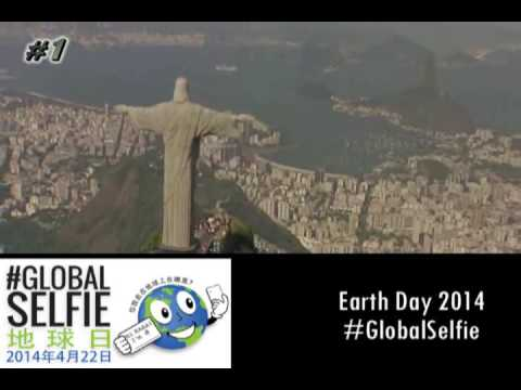 Earth Day 2014 in 24 Languages From Rio de Janeiro, Brazil #GlobalSelfie #EarthRightNow