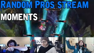 Random Pros Stream Moments : Funny League of Legends