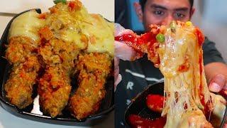 Makan Ayam Keju Terpedas (Cabenya banyak amat)