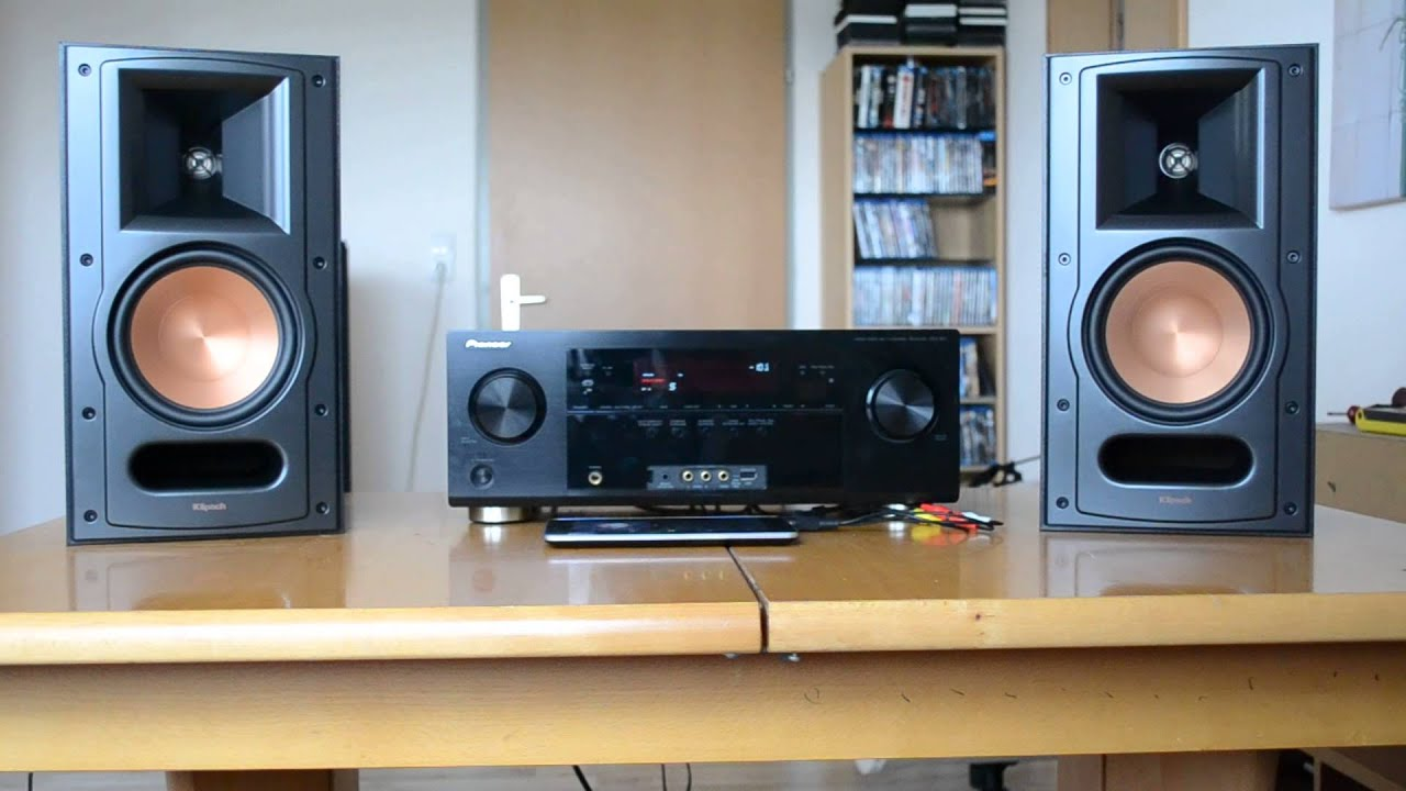 demo klipsch reference rb 61 ii hd youtube. Black Bedroom Furniture Sets. Home Design Ideas