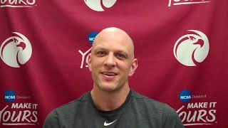 SPU MEN'S BASKETBALL: Coach Grant Leep (March 4, 2020)