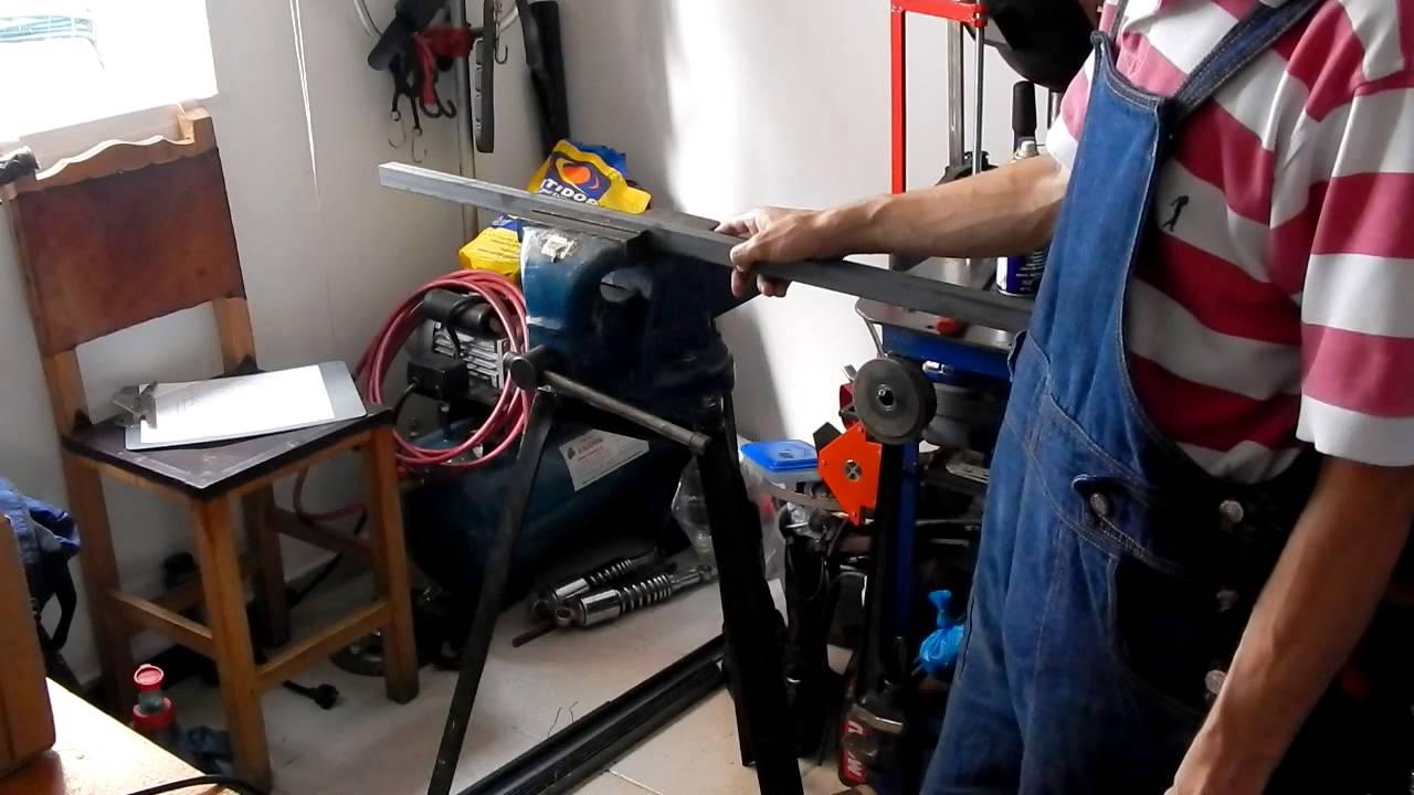 Como hacer un estante de metal parte 2 2 youtube - Estantes de metal ...