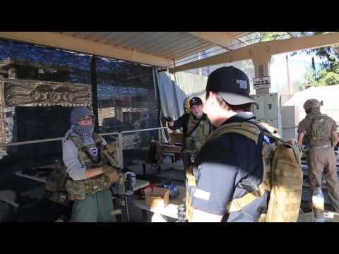 Airsoft GI - Gas vs AEG CQB Game at Hollywood Sports Park Feat. KWA LM4 PTR and Magpul PTS