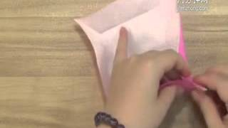 How To Origami Rose Box
