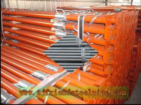 Friend Scaffolding   Steel shoring post/spraying steel middle east adjustable prop tianjin factory