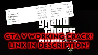 Кряк на GTA V (ССЫЛКА) НЕ ВИРУС! WORKING CRACK! (LINK) VIRUS FREE!