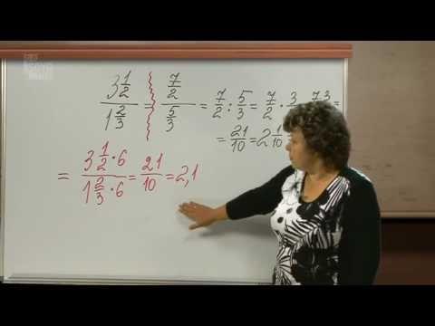 ћатематика 6 класс. ƒ≈Ћ≈Ќ»≈ ќЅџЌќ¬≈ЌЌџ' ƒ–ќЅ≈….