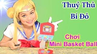 Thuỷ Thủ Mặt Trăng Và Công Chúa Disney Alena Mới Chơi Bóng Rổ Mini / Mini Basket Ball Toy For Kids