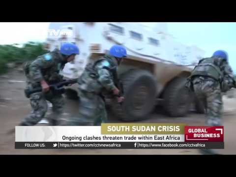 South Sudan clashes threaten trade within East Africa