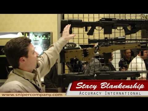 Accuracy International @ Shot Show 2010