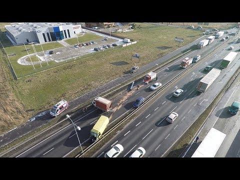 Wypadek Na DK-1 W Pszczynie - 16.01.2018